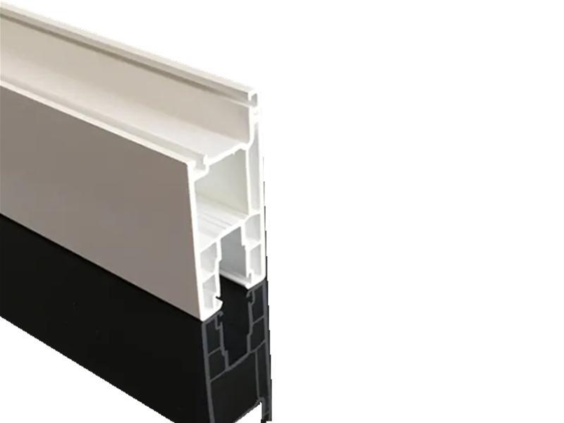 White Sliding PVC Profiles for Window