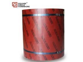 Construction Building Formwork Film Faced Plywood Circular Concrete Column Formwork