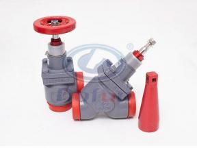 Regulating Valve Angle Type