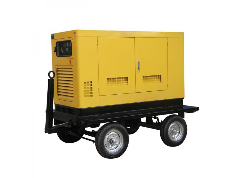 Emergency Energy 100KW Mobile Diesel Generator with CE