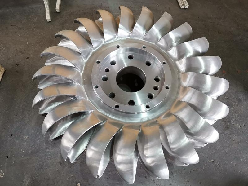 Hydro-turbine for Serbian Six Small Hydropower Station Renovation Project