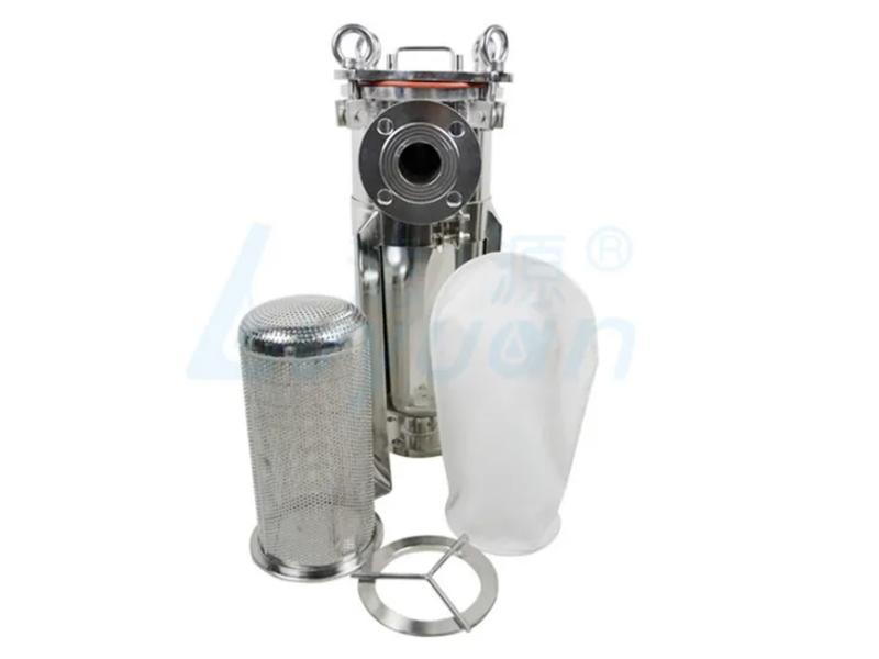 SS304/316 Stainless Steel Liquid Filter Housing and Water Bag Filter Housing for Wine Filtration