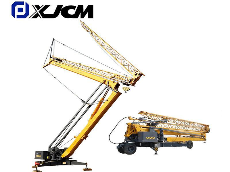 China Crane Factory Supplu 2 Ton  Mini Mobile Tower Crane