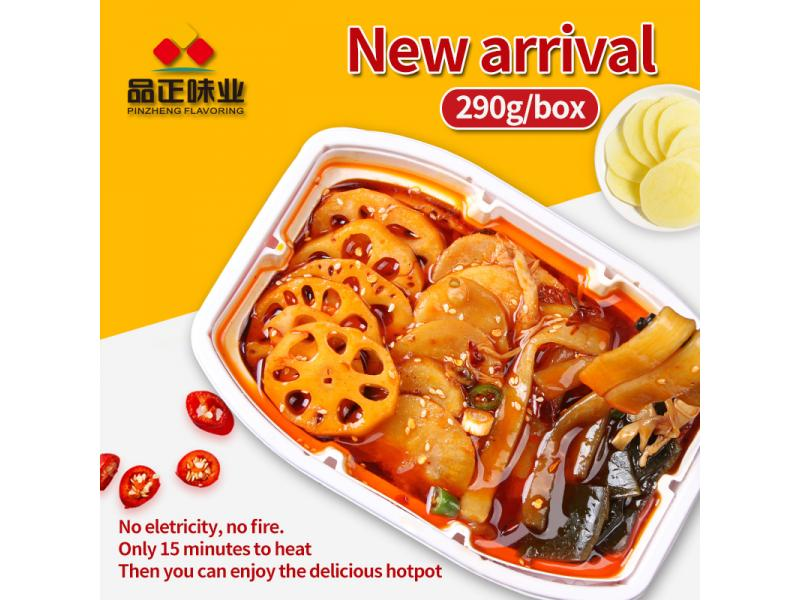 Pinzheng Factory Sale Spicy Fast Food Wholesale Instant Noodles Delicous Instant Food Hot Pot
