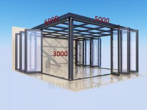 New Design Customized Aluminum Sunhouse for Apartment