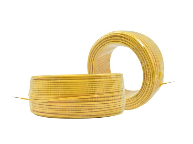 Green Plastic Coated Copper Bvr Cable