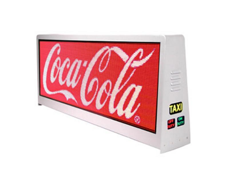 TS 2.5/3/3.33/5 Taxi Top DisplayTaxi Topper LED Display Taxi LED Display Powered Taxi Roof LED Displ