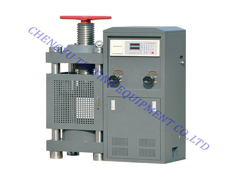 200 Tons Function of Manual Screw Adjust Concrete Compression Strength Testing Machine, Ctm