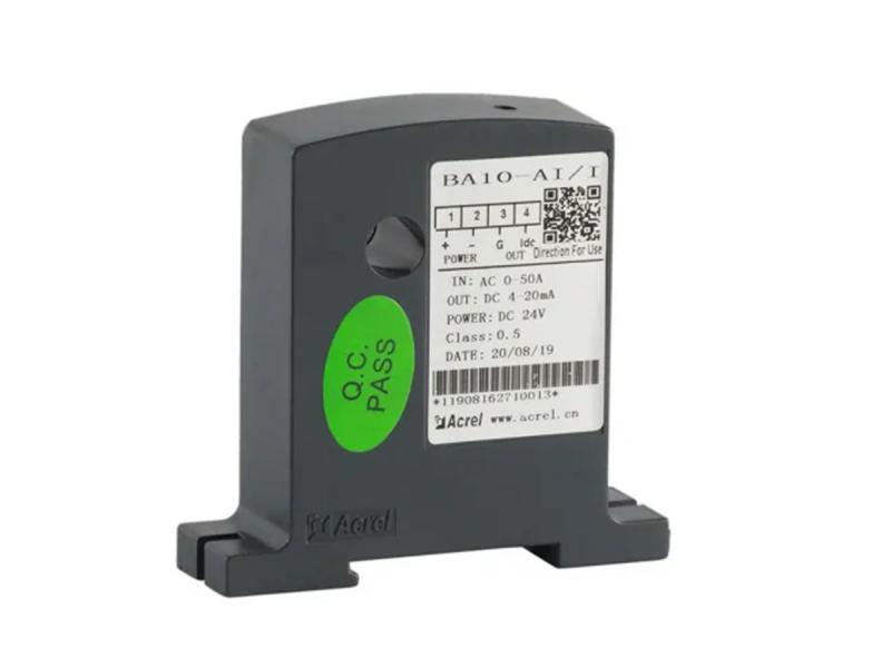 Acrel 300286. Sz DC 4-20mA Output Single Phase 0-50A AC Current Transmitter
