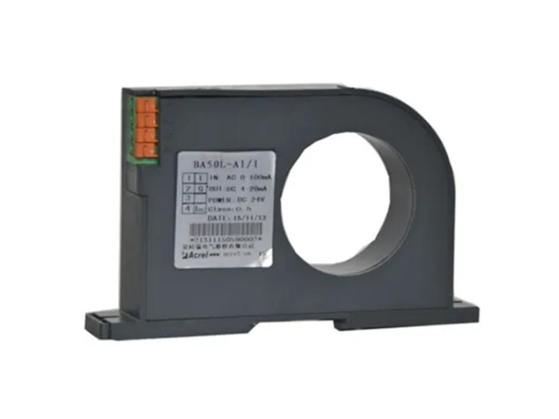 Acrel AC Leakage Residual Current Transducer with AC0-1A Input Anolog 4-20mA Output
