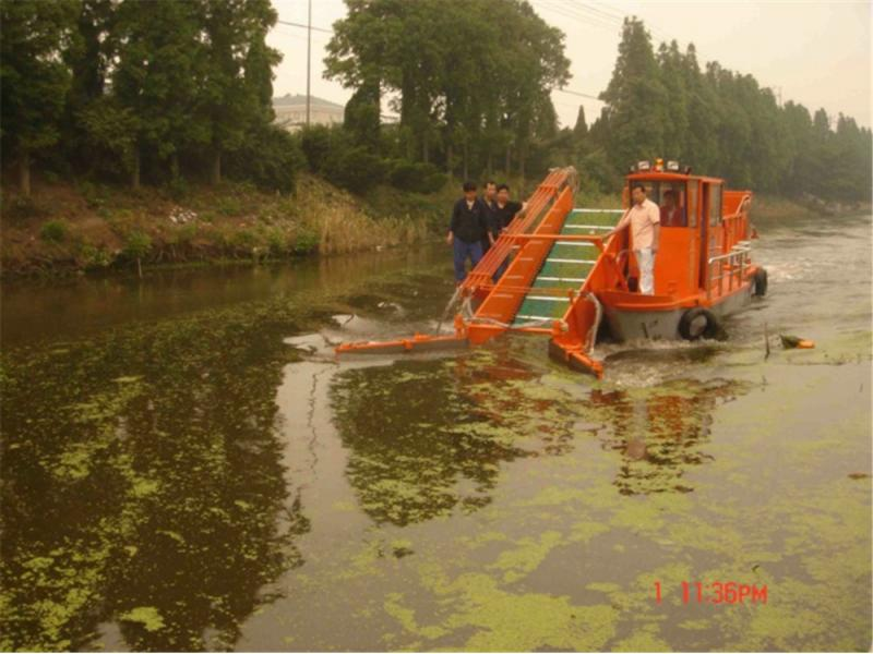 Aquatic Weed Cleaning Machine