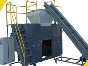 Household Waste, Medical Waste, Food and Kitchen Waste Double Shaft Crusher.