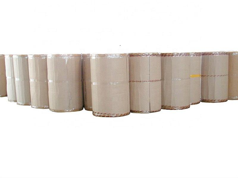 Hot Sale 1280mm X 4000m Packing 40mikron 45mic Acrylic Best Price Adhesive Bopp Tape Jumbo Roll
