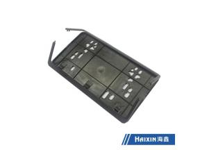 Haixin Custom Made Plastic Product Plastic Part License Plate Frame for United States Department Veh