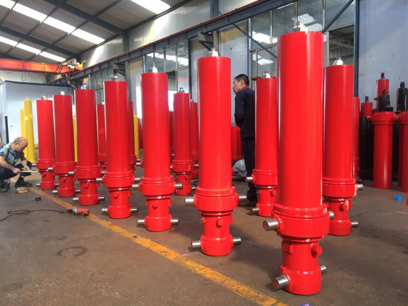 OEM Single Acting Welded Hydraulic Cylinders