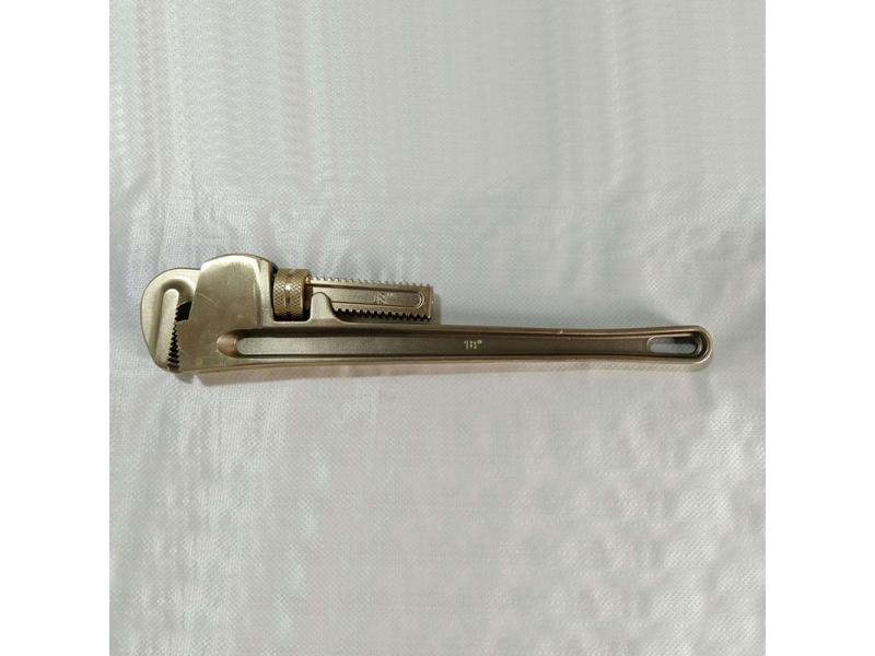 Spark Resistant Tools Pipe Wrench Spanner Be-Cu or Al-Cu ATEX