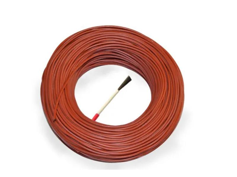 Carbon Fiber Silicone Flame Retardant Wire with High Temperature Resistance