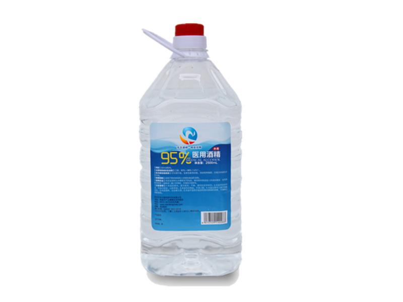 2500ml 95% Alcohol for Medical Use