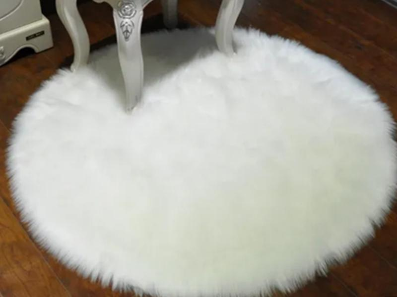 Whosale Long Wool Rug Thick Faux Fur Carpet Tiles Sheepskin with Cheap Price