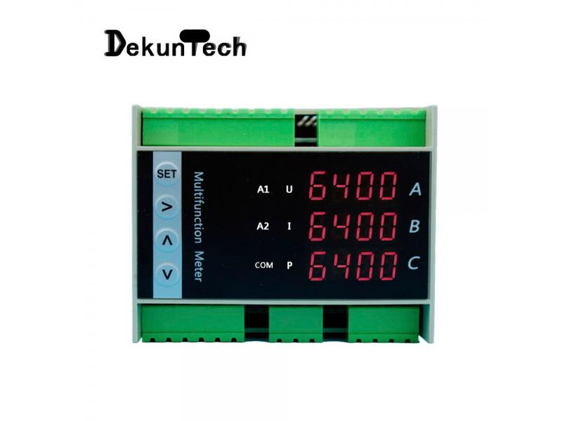 High-precision Three-phase Intelligent Digital Multifunctional Power Meter