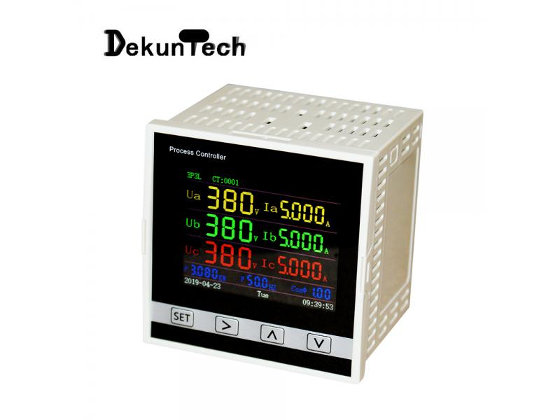 High-precision Three-phase LCD Multifunctional Power Meter
