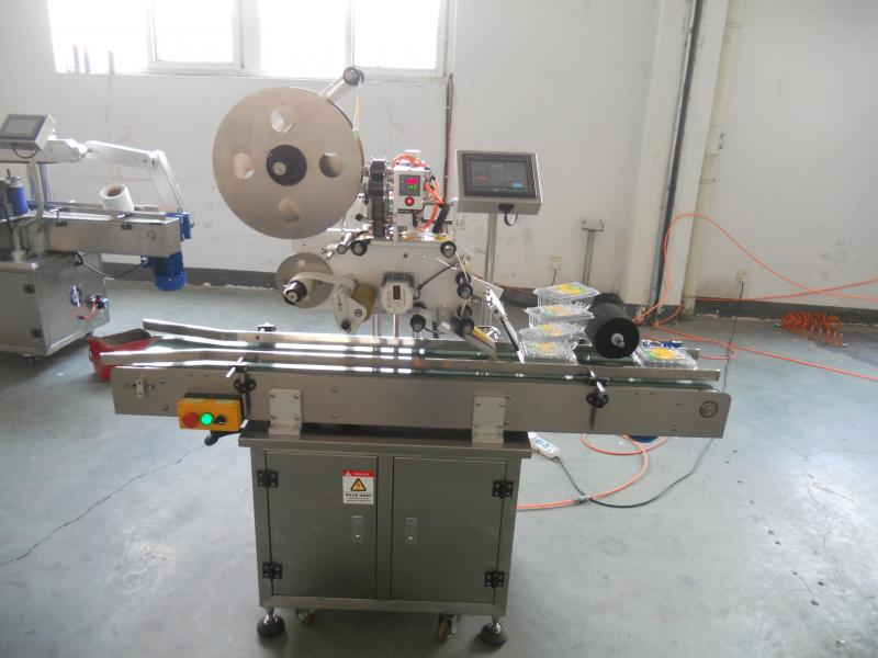 LB-300 Baby Wet Wipes L Abeling Machines/Food Plastic Box Aadhesive Labeling Machine