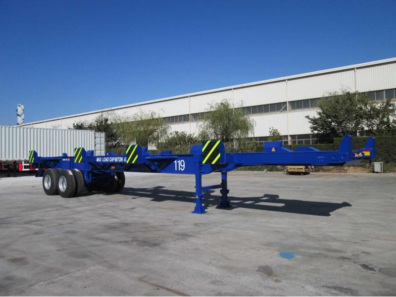 CIMC 2 Axles 45ft Terminal Trailer 65 Tons