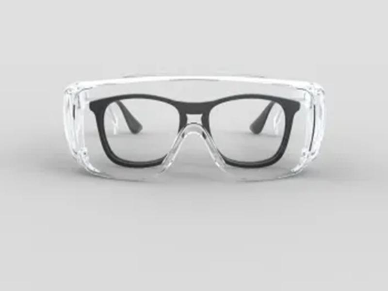 Plastic Goggles Anti-Fog Safe Goggles
