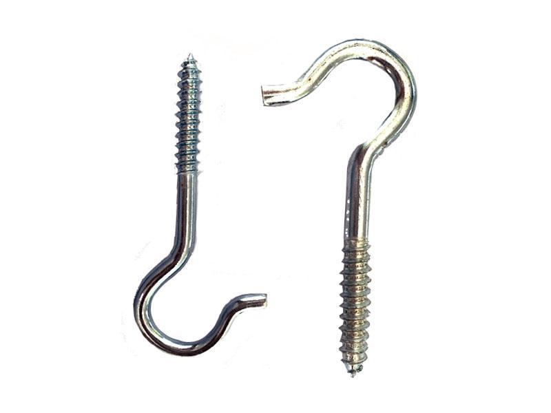 Eye Screws Storage Hooks Eye Hook Screw Cup Hook Screw Square Hook