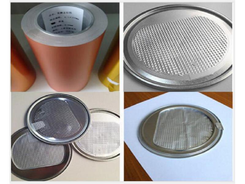 8011 Lacquer Aluminium Foil for Milk Powder Tin Can Seal