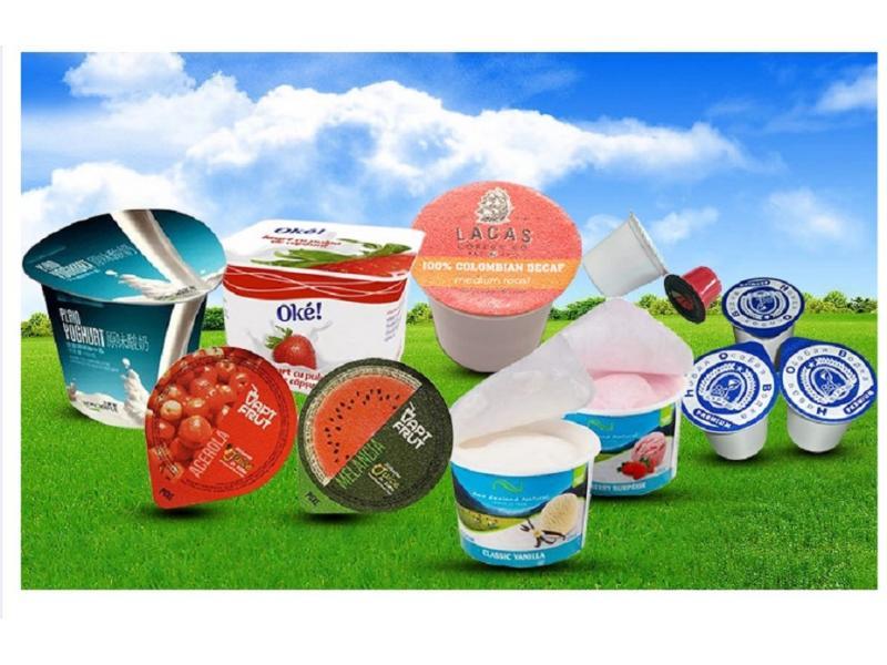 8011 PS Lacquered Aluminium Foil for Yogurt Lids