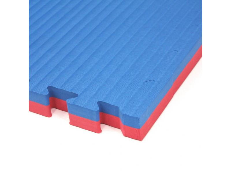 Gym Floor Mat with 20mm,25mm,30mm,35mm,40mm WKF Approval Double Colour and High Density EVA Foam