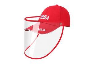 Custom Reusable Anti-fog Droplet Full Clear PVC Plastic Visor Protective Hat Face Shield