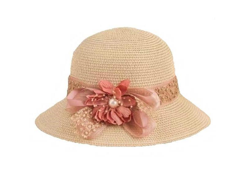 Summer Hats for Women High Quality Flat Top Beach Wholesale Straw Hats