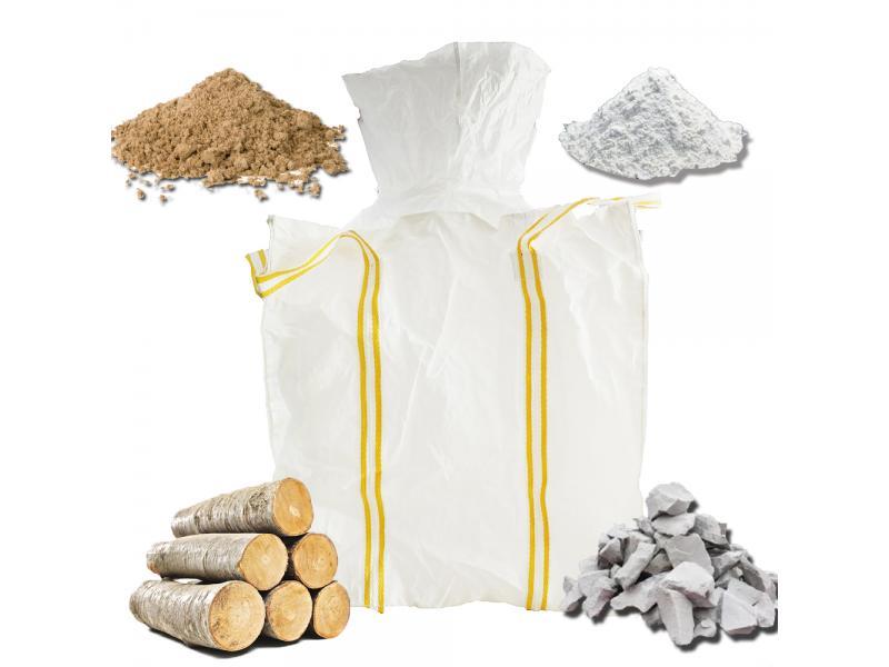 Polypropylene Woven 1 Ton PP Maxi Bulk Fibc Container Big Jumbo Bag for Sand Cement Mineral Coal Fir