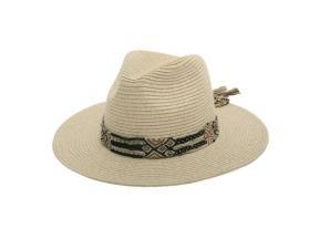 Wholesale High Quality Men Cowboy Hats Beach Straw Hat Panama