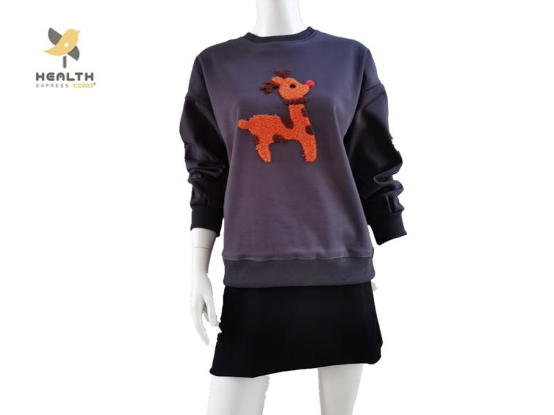 Ripeng Stylish Extra-Thick Hoodie with Various Color for Women with Other Logos