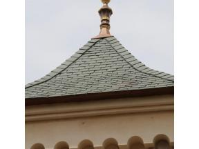 Factory Wholesale High Quality Vintage Black Synthetic Slate Composite Slate Roof Tile