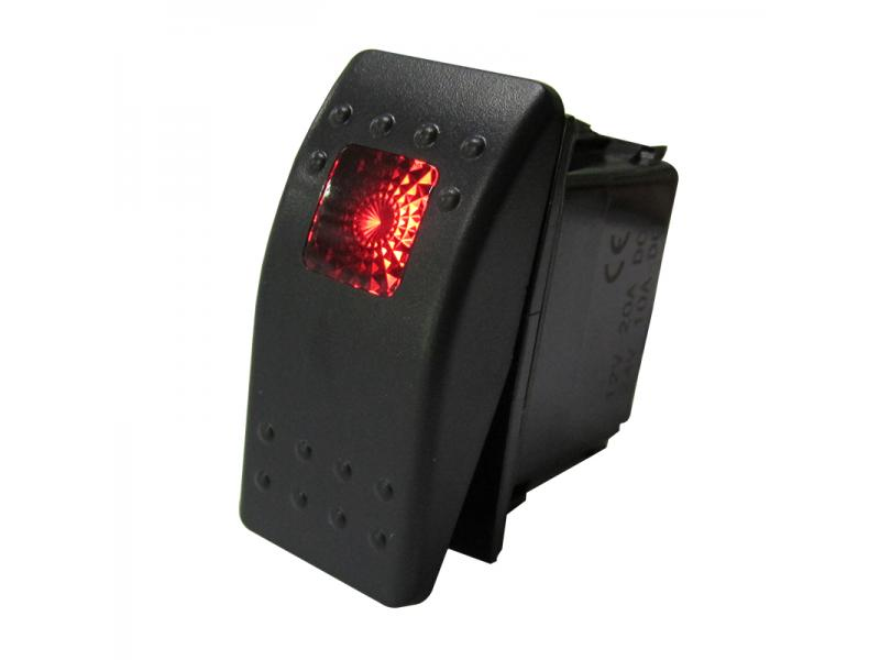 Imported New Design Marine 5 Pins Universal Rocker Switch with LED Lights