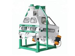 Pumpkin Seeds Vibration Cleaner Price Mobile Vibrating Screen Separator with Aspiration