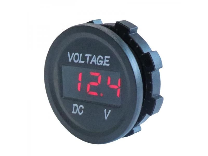 Professional Measure Voltage 5-48V Car Motorcycle LED DC Digital Display Voltmeter Waterproof Meter