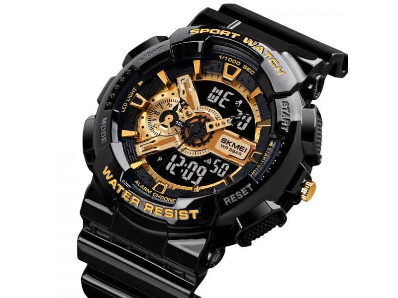 SKMEI Top Selling Watches Men 1688&1689 OEM Analog Outdoor Sport Watch 5atm Water Resistant Unisex D