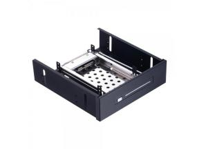 Unestech ST5512 2.5in SATA To 5.25in Optibay SSD HDD Mobile RACK for 2.5in Tray-less  Enclosure